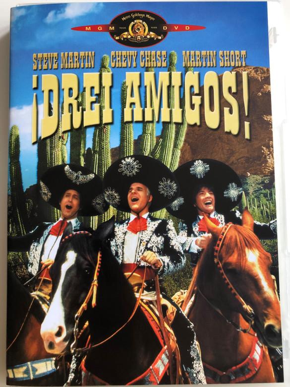 The Three Amigos DVD 1986 Drei Amigos / Directed by John Landis / Starring: Steve Martin, Chevy Chase, Martin Short, Alfonso Arau (4045167004627)