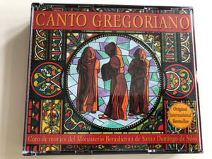 Canto Gregoriano / Coro de monjes del Monasterio Benedictino de Santo Domingo de Silos / 2x Audio CD 1994 / EMI classics / CMS 5 65217 2 (724356521728)