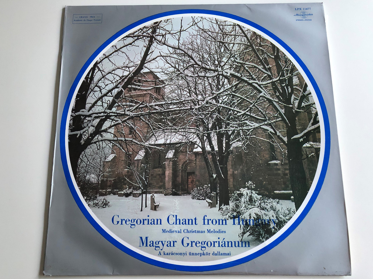 Gregorian Christmas Chants.Gregorian Chant From Hungary Medieval Christmas Melodies Magyar Gregorianum Hungaroton Lp Stereo Mono Lpx 11477