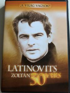 """""""A Világ vagyok!"""" Latinovits Zoltán: 50 vers - DVD 1 / Ötven vers – válogatás az MTV archívumából / 1. Lemez (50 vers DVD1)"""