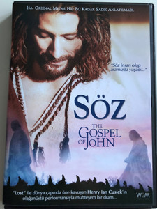 The Gospel of John DVD 2003 Söz / Directed by Philip Saville / Starring: Henry Ian Cusick, Stuart Bunce, Daniel Kash, Stephen Russell (8699931620016)