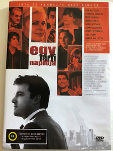 Man about Town DVD 2006 Egy férfi naplója / Written & Directed by Mike Binder / Starring: Ben Affleck, Rebecca Romijin, Samuel Ball, Mike Binder, Gina Gerhson, Bai Ling (5999545585033)