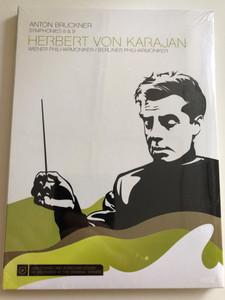 Anton Bruckner - Symphonies 8 & 9 DVD 2007 Herbert Von Karajan / Wiener Philharmoniker, Berliner Philharmoniker / Sony BMG (886972023991)