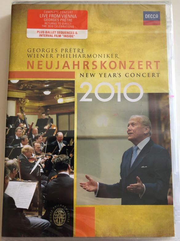 Georges Pretre - Wiener Philharmoniker: Neujahrskonzert 2010 DVD New Year's Concert / Live From Vienna / Decca 074 3376 (044007433768)
