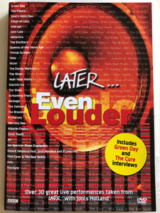 Later... with Jools Holland / Even Louder DVD 2005 / Green Day, Muse, The Hives, The Cure, The Killers, Kings of Leon, Nick Cave & The Bad Seeds / BBC (0825646223428)