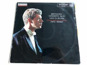 Beethoven - Concerto No. 4 / Van Cliburn / Orchestre Symphonique de Chicago / Fritz Reiner / RCA VICTOR LP / 635.010