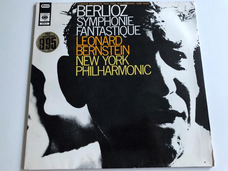 Berlioz - Symphonie Fantastique / Leonard Bernstein - New York Philharmonic / CBS LP STEREO / SPR 21