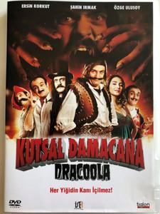 Kutsal Damacana: Dracoola DVD 2011 / Directed by Korhan Bozkurt / Starring: Ersin Korkut, Şahin Irmak, Özge Ulusoy (8697333611298)