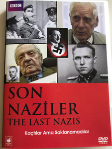 Son Naziler DVD 2009 The Last Nazis / BBC 3-part Documentary about the last remaining Nazi war criminals / Narrated by David Morrissey (8697333611175)