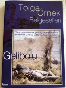 Gallipoli DVD 2005 Gelibolu / Directed by Tolga Örnek / Documentary about the 1915 Gallipoli campaign / Narrated by Sam Neill, Zafer Ergin, Demetri Goritsas, Jeremy Irons (8697333086294)