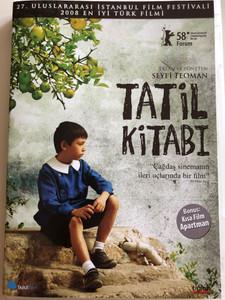 Tatil Kitabi DVD 2008 Holiday album / Directed by Seyfi Teoman / Starring: Taner Birsel, Tayfun Gunay, Harun Ozuag, Ayten Tokun, Osman Inan / Turkish film (8697333034837)