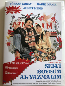 Selvi Boylum Al Yazmalim DVD 1978 The Girl with the Red Scarf / Directed by Atif Yilmaz / Starring: Türkan Şoray, Kadir İnanır, İhsan Yüce, Ahmet Mekin (8697441016466)