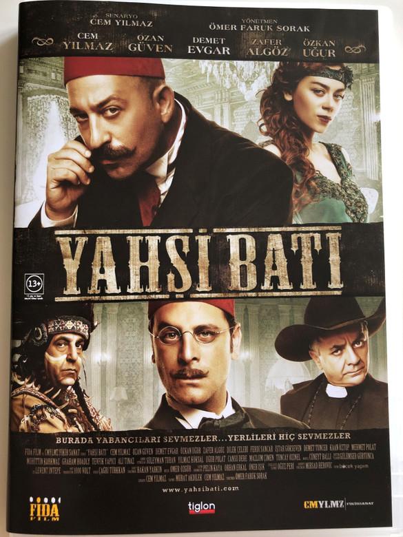 Yahşi Batı DVD 2010 / Directed by Ömer Faruk Sorak / Starring: Cem Yılmaz, Ozan Güven, Demet Evgar, Özkan Uğur, Zafer Algöz / Turkish Western Comedy (8697333083309)
