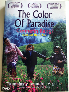 The Color of Paradise DVD 1999 Cennetin Rengi / Rang-e Khodā / Directed by Majid Majidi / Starring: Hossein Mahjoub, Mohsen Ramezani, Salameh Feyzi, Farahnaz Safari (8697441019689)