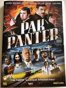 Pak Panter DVD 2010 Panther / Directed by Murat Aslan / Starring: Ufuk Özkan, Metin Zakoglu, Doga Rutkay, Sümer Tilmac, Erdal Tosun (8697333083583)