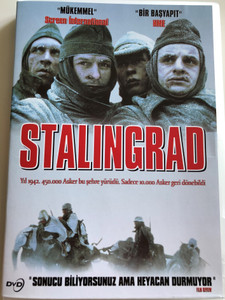 Stalingrad DVD 2011 / Documentary about the WWII Battle of Stalingrad (8698907202140)