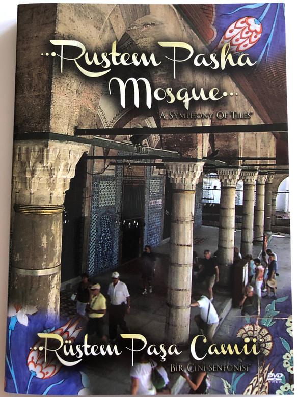 """Rustem Pasha Mosque """" A Symphony of Tiles"""" DVD Rustem Pasa Camii / Directed by Senol Demiröz / A Tour of the Mosque / """"Bir Cini Senfonisi"""" (9786058799219)"""