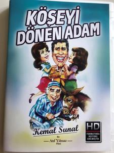 Köseyi Dönen Adam DVD 1978 / Directed by Atıf Yılmaz / Starring: Kemal Sunal, Meral Orhonsay, Ali Şen (8699943802103)