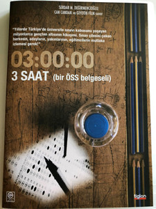 3 Saat - bir Öss belgeseli DVD 2010 / Directed by Can Candan / Turkish Documentary about University hardships (8697333102871)
