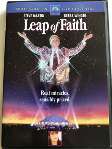Leap of Faith DVD 1992 / Directed by Richard Pearce / Starring: Steve Martin, Debra Winger, Lolita Davidovich, Liam Neeson (5055025343873)