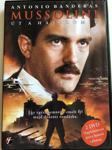 A Man named Benito DVD 1993 Mussolini - Út a hatalomig / 2 disc special edition / Directed by Gianluigi Calderone / Starring: Antonio Banderas, Claudia Koll, Memé Perlini, Susanne Lothar (5999546332360)
