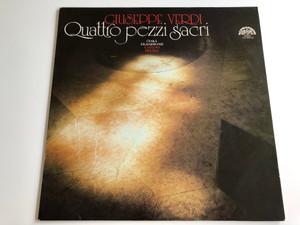 Giuseppe Verdi - Quattro Pezzi Sacri / Czech Philharmonic / Gaetano Delogu / SUPRAPHON LP STEREO / 1112 2443 ZA