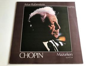 Artur Rubinstein - Chopin / Mazurken Op. 6, 17, 24 / Fryderyk Chopin / ETERNA LP STEREO / 8 26 819
