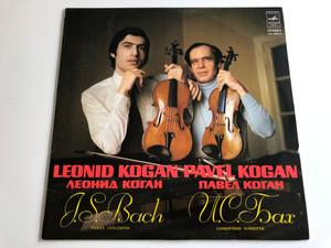 Leonid Kogan, Pavel Kogan - J.S. Bach / Violin Concertos / Мелодия LP STEREO / CM 02995 - 6