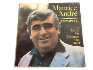 Maurice André – Musik Für Trompete Und Orgel / Trompete / ETERNA LP STEREO / 8 27 052