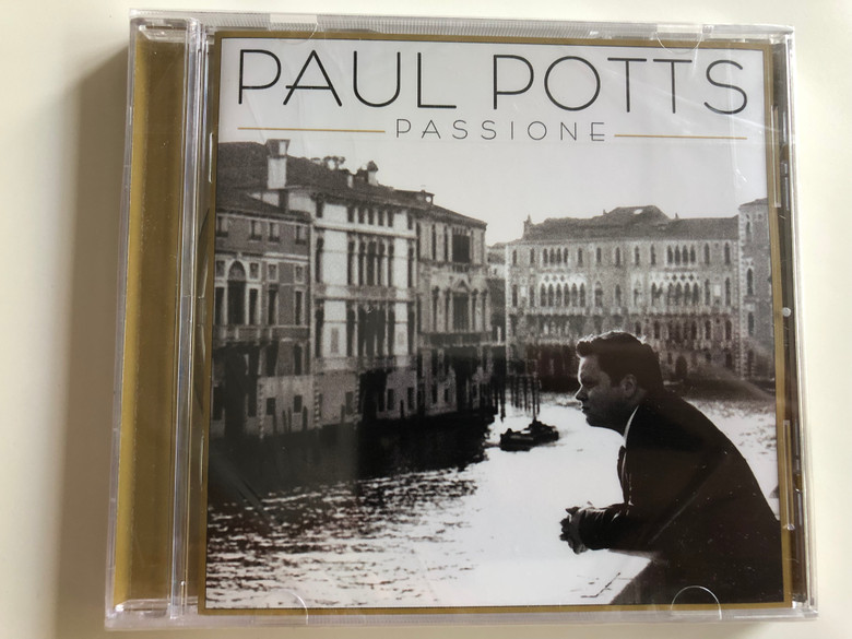 Paul Potts - Passione / Audio CD 2009 / Sony Music / LC 01413 (886974743927)