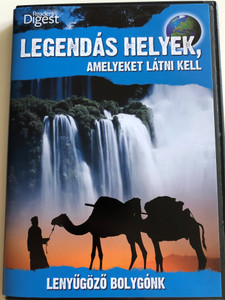 Legendary Locations DVD 2009 Legendás Helyek, Amelyeket látni kell / Lenyűgöző bolygónk / Reader's Digest / Narrated by Josh Gates (LegendaryLocationsDVD1)