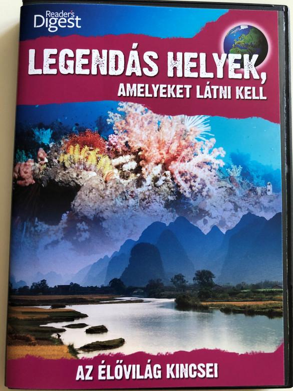 Legendary Locations - Treasures DVD 2009 Legendás Helyek, Amelyeket látni kell / Az élővilág kincsei / Reader's Digest / Narrated by Josh Gates (LegendaryLocationsDVD12)