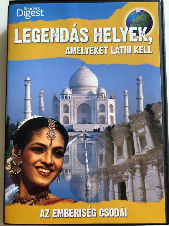 Legendary Locations - Wonders of mankind DVD 2009 Legendás Helyek, Amelyeket látni kell / Az emberiség Csodái / Reader's Digest / Narrated by Josh Gates (LegendaryLocationsDVD3)