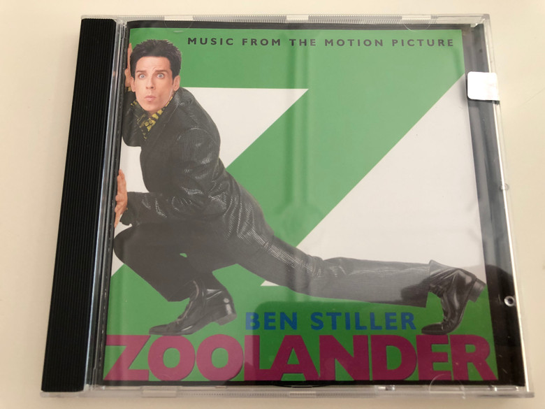 Ben Stiller - Zoolander / Music from the motion picture / Audio CD 2001 (809274240828)