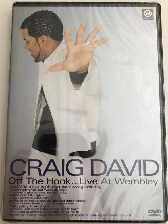Off the hook - Craig David ... Live at Wembley DVD 2001 / Over 200 minutes of essential viewing (5014469990180)