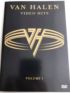 Van Halen video hits Volume 1 DVD 1999 / Jump, Panama, Finish What ya Started, Dreams, Can't Stop Lovin' you, Without you (075993842821)