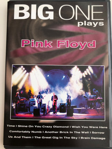 Big one play Pink Floyd DVD Live on Tour / Wish you were here, Comfortably Numb, Another brick in the wall (9002986612148)