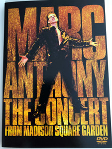 Mark Anthony - The Concert from Madison Square Garden DVD 2004 / You Sang to Me, Hasta Ayer, Remember Me / Col 2024329 (5099720243298)