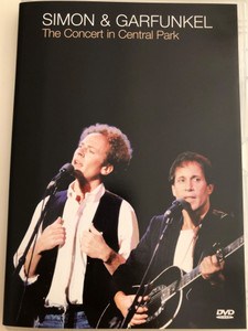 Simon & Garfunkel - The Concert in Central Park DVD 2003 / Recorded Live on September 19, 1981 / Mrs. Robinson, American Tune, Late in the Evening / Columbia ‎– 202223 9 (5099720222392)