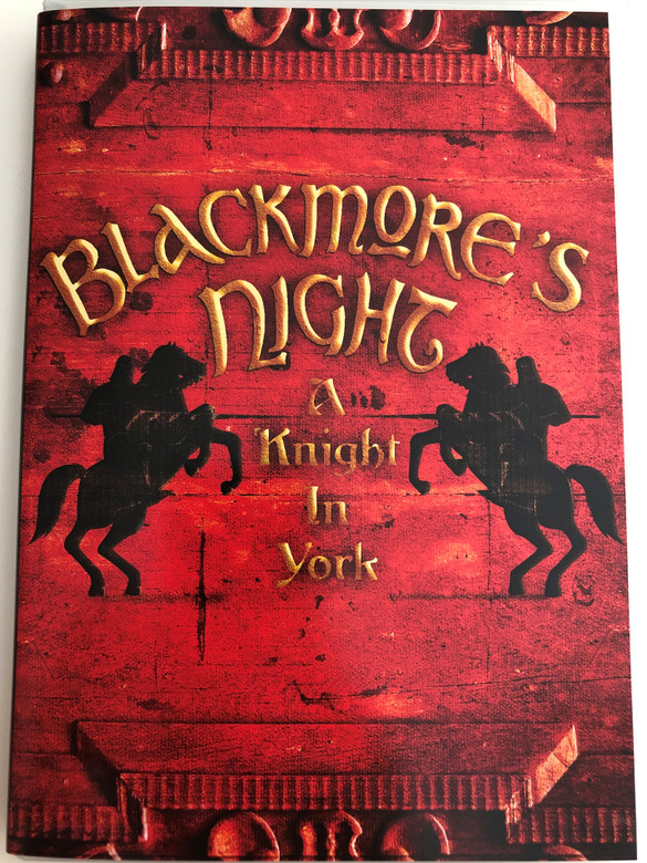 Blackmore's Night - A Knight In York DVD 2012 / UDR- EMI (5099970549393)