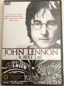 John Lennon - Give Peace a Chance DVD / A béke dal / Documentary Goldhill Video (5998168500102)