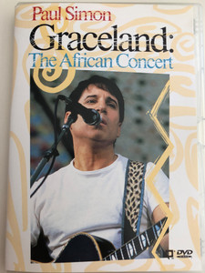 Paul Simon - Graceland: The African Concert DVD 1987 / Paul Simon, Miriam Makeba, Hugh Masekela, Ladysmith Black Mambazo / Directed by Michael Lindsay-Hogg / Warner Music (075993813623)