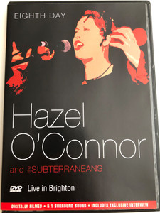 Hazel O'Connor and the Subterraneans - Eight Day DVD / Live in Brighton / Includes Exclusive Interview (5036436045723)