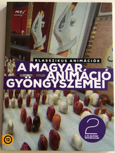 Gems of Hungarian Animation Vol 2. DVD 2019 A magyar animáció gyöngyszemei 2. / A 70-as évek rövidfilmjei / Animated Shorts of the '70s (5999887816536-2)