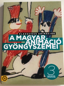 Gems of Hungarian Animation Vol 3. DVD 2019 A magyar animáció gyöngyszemei 3. / A 80-as évek rövidfilmjei / Animated Shorts of the '80s (5999887816536-3)