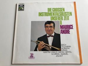 Maurice André – Die Grossen Instrumentalsolisten Unserer Zeit II / Bach, Telemann, Albinoni, Hamal, Martini, Vivaldi, Haydn / ERATO LP / C 047 - 28 350