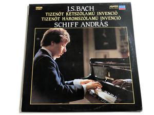 J. S. Bach - Tizenöt Kétszólamú Invenció / Tizenöt Háromszólamú Invenció / Schiff András / HUNGAROTON LP DIGITAL STEREO / SLPDL 31023
