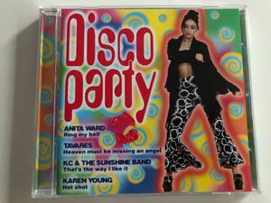 Disco party / Anita Ward, Tavares, Kc & The Sunshine band, Karen Young / Audio CD 1997 / Disky DC 880272 (0724348802729)