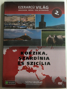 Ezerarcú Világ Vol. 2- Korzika, Szardínia és Szicília - Corsica, Sardinia & Sicily / DVD 2009 / Országok, Népek, Ízek nyomában 20 x DVD SET 2009 / Népszabadság - Premier Media / Pilot Film / Documentary Series about our world (5998282109267)