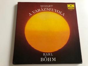 Mozart – A Varázsfuvola / Karl Böhm / HUNGAROTON 3X LP STEREO / SLPXL 12401 - 03